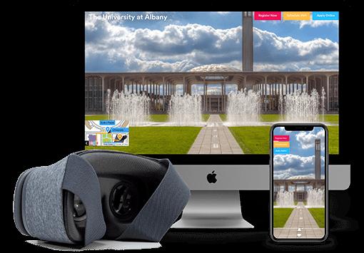 Ejemplo de servicio ofrecido de Realidad Virtual por YouVisit