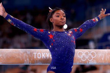 Simone Biles, gimnasta estadounidense. (EFE)